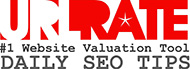 Free URL Rate, website Value and domain name value Tool